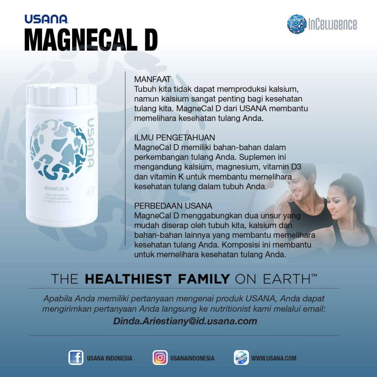 Magnecal D Usana Indonesia