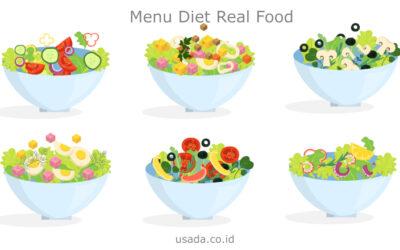 Seperti Apa Cara Mengonsumsi Menu Diet Real Food?